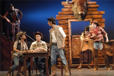 Crazy For You, Musical - Benjamin Geipel als Cowboy Jimmy