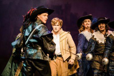 Die Drei Musketiere, Musical - Benjamin Geipel als Porthos