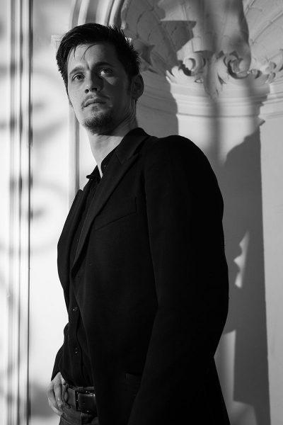 Portrait Benjamin Geipel - Aaron Cawley